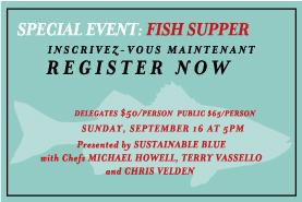 Nova Scotia Fish Fry Sponsored by Sustainable Blue