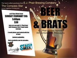 Beer & Brats an SF Beer Week Event