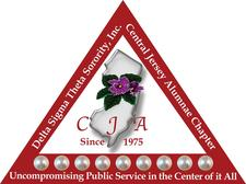Central Jersey Alumnae Chapter of Delta Sigma Theta Sorority Inc. logo