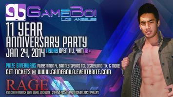 GAMeBoi LA - 11 Year Anniversary Party, January 24,...