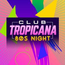 Club Tropicana 80s Club Night logo