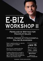Ebiz Workshop II: Persuasive Writing For Maximum Sales