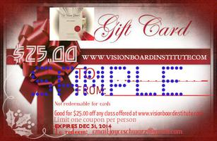 GIVE A FREE $25. GIFT CARD COURTESY...