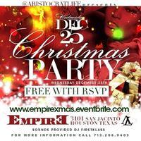 CHRISTMAS PARTY TONIGHT @ EMPIRE