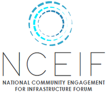 National Community Engagement for Infrastructure Forum (NCEIF) logo