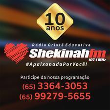 Rádio Shekinah 107.1 logo