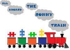 The Ronny Train logo