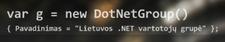 Lietuvos .NET naudotojų grupė logo