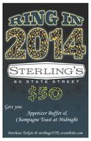 New Years Eve at Sterling's