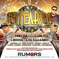 Rumors NYC New Years Eve 2014