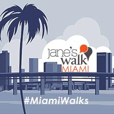 Jane's Walk Miami aka #MiamiWalks logo