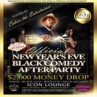 OFFICIAL NYE Black Comedy After Party/Party Bus with...
