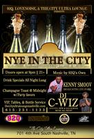 NYE  2014 AT THE CITY ULTRALOUNGE
