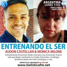 Audon Castellan - Monica Milone  logo