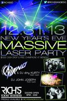 Rich's NYE Massive Laser Party Pre-Sale!