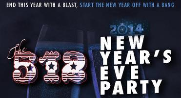 The 512 NEW YEARS EVE PARTY 2014