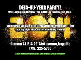 FIAMMA 41 DEJA-VU YEAR PARTY