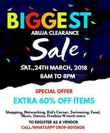 Abuja Clearance sales logo