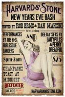 Harvard Stone NYE Bash with Rob BRMC, H&S Burlesque &...
