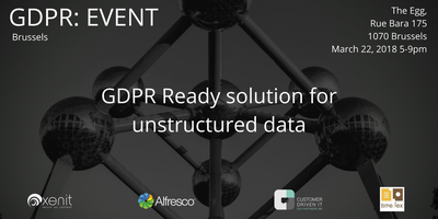 GDPR READY SOLUTION FOR UNSTRUCTURED DATA