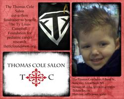 The Thomas Cole Salon cut-a-thon to benefit The Ty...