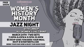 Jazz Night Women's History Month Edition @...