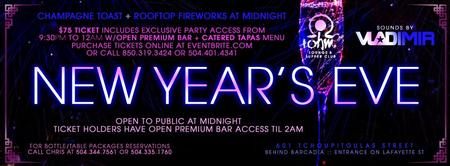 NEW YEAR'S EVE @ Ohm Lounge