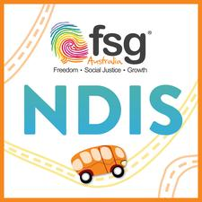 FSG Make the most of your NDIS logo