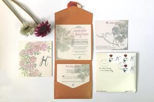 Wedding Stationery & Brush-Lettering Workshop
