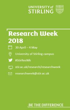 UoS Research Week  logo