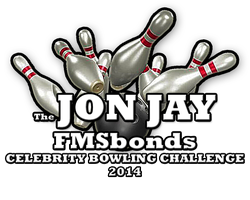 The Jon Jay FMSbonds  Celebrity Bowling Challenge 2014