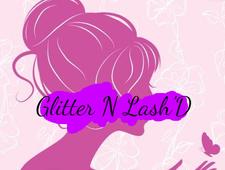 Toni & Andrea of Glitter N Lash'D logo