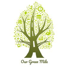 Our Green Mile logo