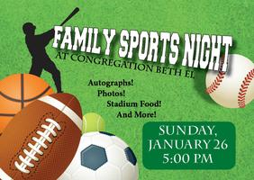 Beth El Family Sports Night