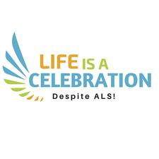Life is a Celebration, Despite ALS (a 3rd party fundraiser registered with the ALS Society of BC) logo