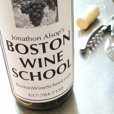 Boston Wine School logo