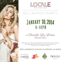 LOCALE LAUNCH PARTY @ Rancho Las Lomas