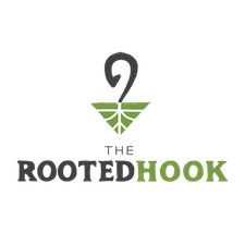The Rooted Hook logo