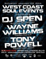 1/25 WCS Events wsg. DJ SPEN | WAYNE WILLIAMS | TONY...