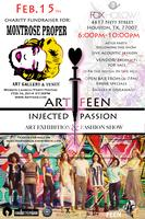 Injected Passion: Art Exhibition & Fashion Show