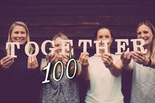 Together100 logo