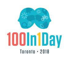 100In1Day Toronto logo