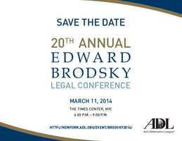 The 20th annual Edward Brodsky Legal Conference