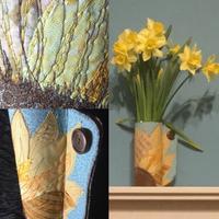 Embroidered Vase Wrap Workshop