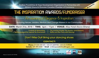 INSPIRATION AWARDS/FUNDRAISER