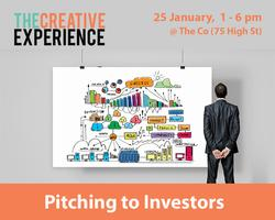 1/2-Day Workshop: Pitching your Creative Business to...