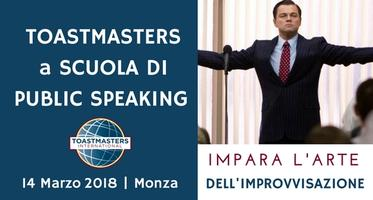 TOASTMASTERS WORKSHOP DI PUBLIC SPEAKING - IMPARA...