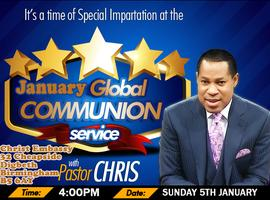 January 2014 Global Communion Service with Pastor Chris