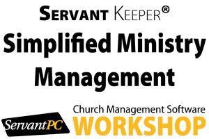 Dallas, TX - Ministry Management Workshop