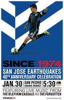 San Jose Earthquakes 40th Anniversary Party